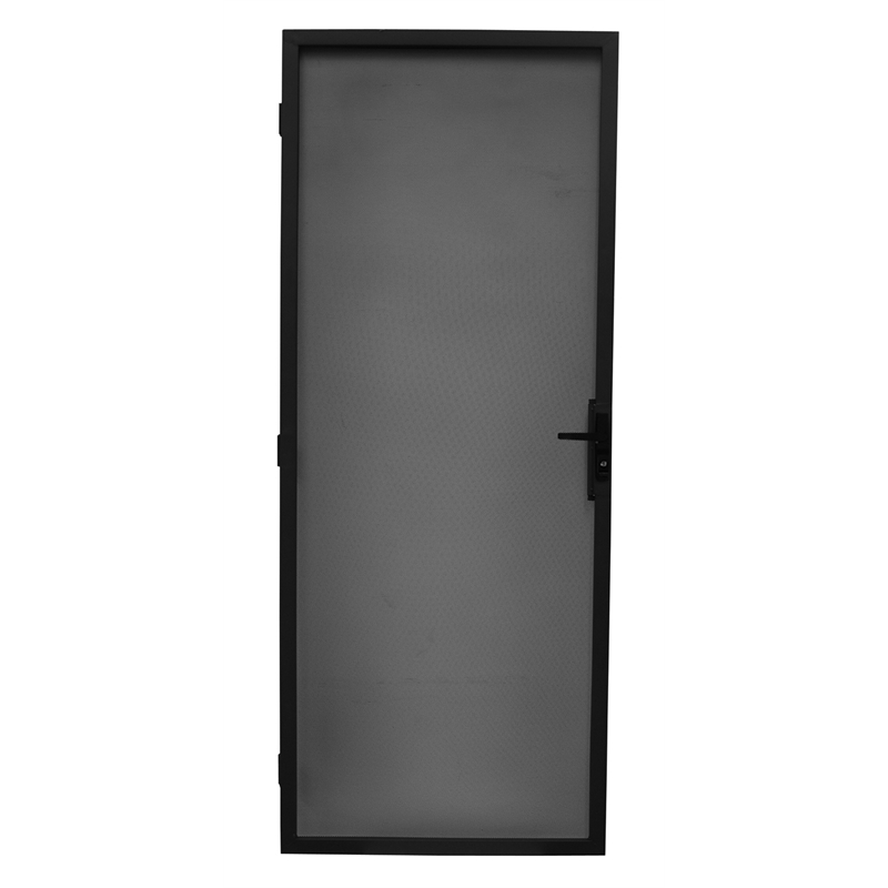Bastion 2032 X 813mm Black Contemporary Metric Steel Frame