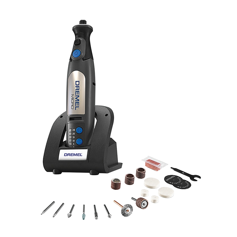 dremel 8v cordless micro rotary tool with accessories bunnings