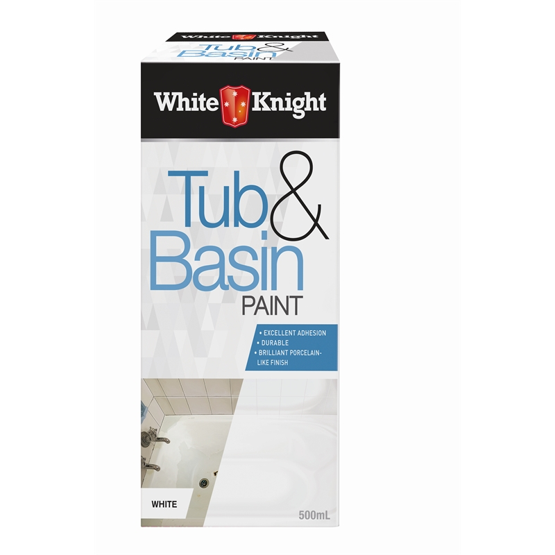 White Knight 500ml White Tub And Basin Paint Bunnings