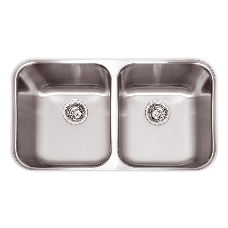 Abey Australia Daintree Undermount Double Bowl Sink Bunnings ...