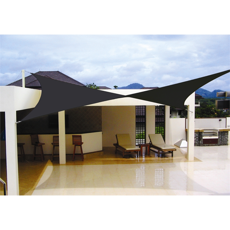 Coolaroo 5 4 X 5 4m Charcoal Extreme Square Shade Sail