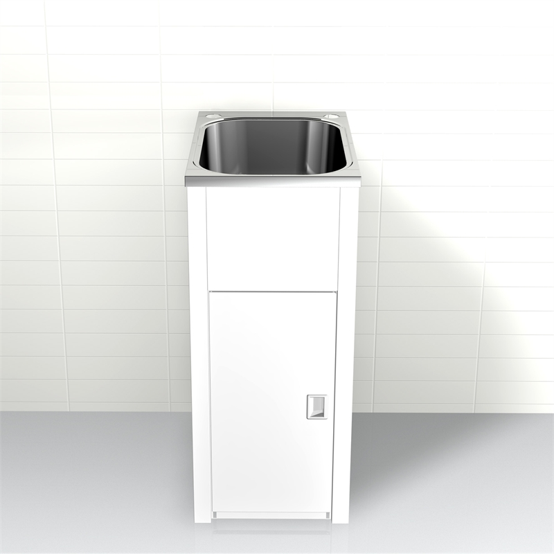 Laundry Basin Bunnings : ... 35L Compact Trough and Cabinet Bypass With Floor Bunnings Warehouse