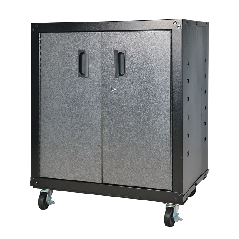 Qiq Fix Romak 2 Door Mobile Garage Cabinet Bunnings