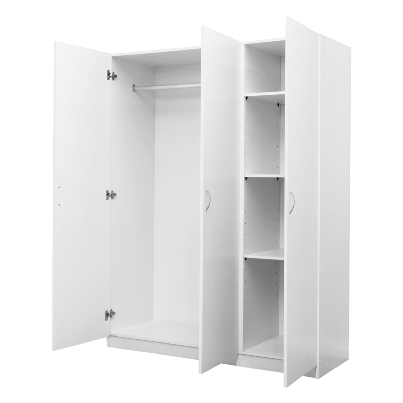 Montgomery 1808 x 1390 x 510mm 3 Door Wardrobe