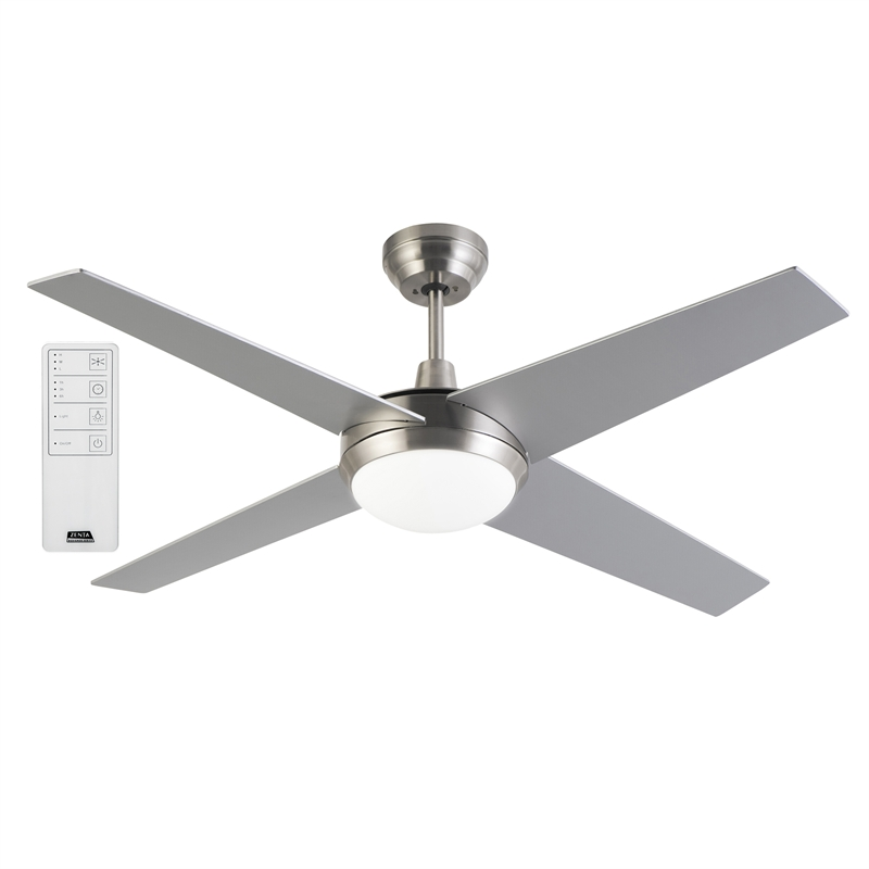 Arlec 130cm 4 blade zephyr ceiling fan with remote bunnings warehouse arlec 130cm 4 blade zephyr ceiling fan with remote aloadofball Images
