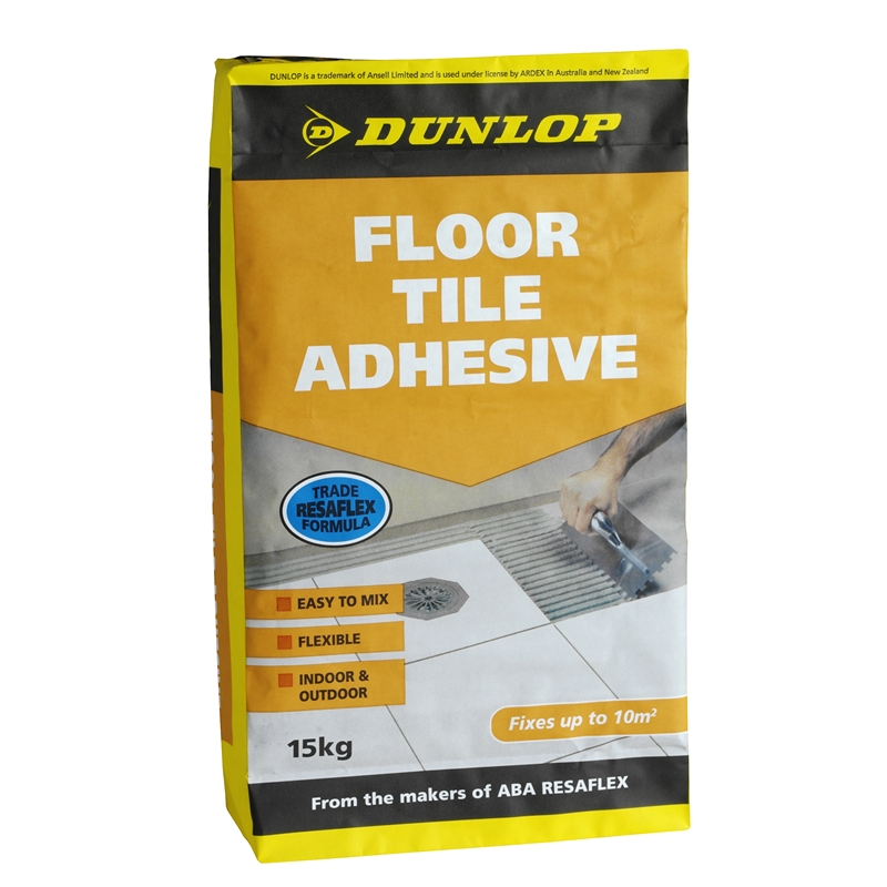dunlop 15kg floor tile adhesive bunnings warehouse. Black Bedroom Furniture Sets. Home Design Ideas