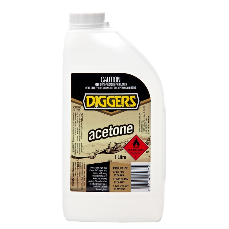 Image result for acetone bunnings