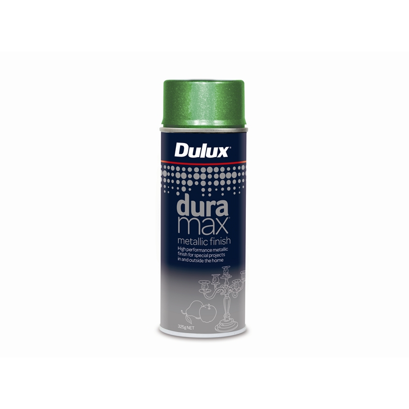 Dulux Duramax 325g Metallic Spray Paint Metallic Green Bunnings Warehouse
