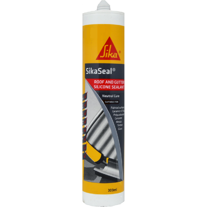 Sika 300ml Black Sikaseal Kitchen And Bathroom Silicone