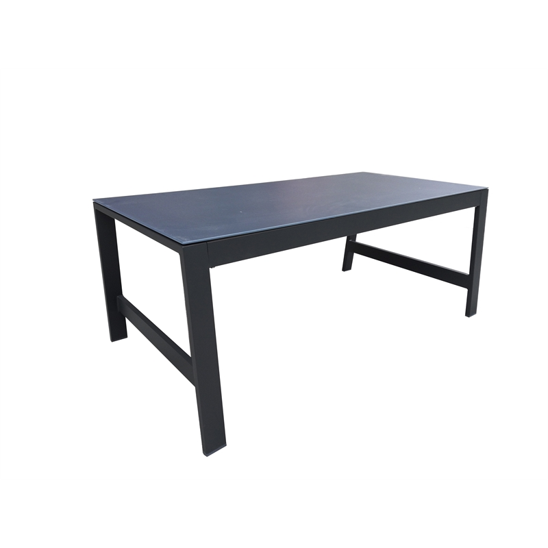 Aluminium Lava Rectangle Coffee Table