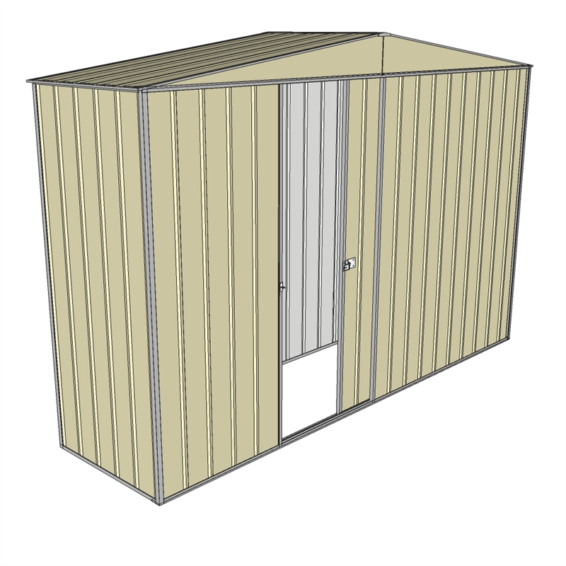 how to build a side shed