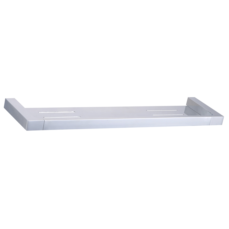 Rumba 445mm Chrome Bathroom Shelf