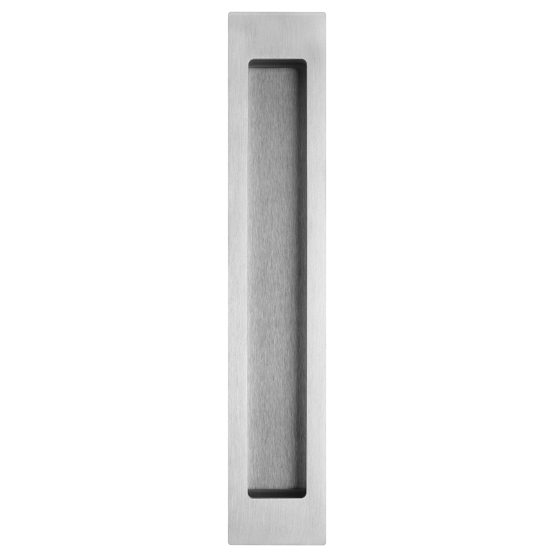 Delf 200 X 37mm Stainless Steel Rectangle Flush Pull