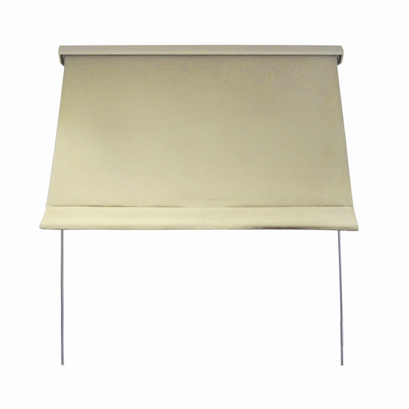 Windoware Fixed Arm Outdoor Awning Blind 1800mm X 2100mm Safari