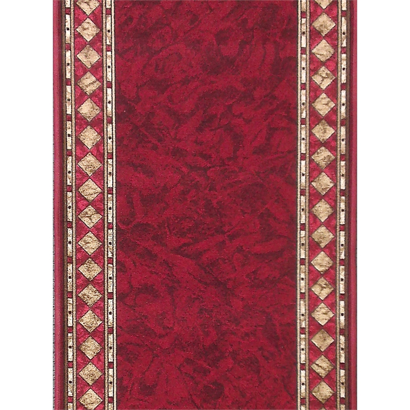 ideal diy floors 67cm cheops red carpet runner