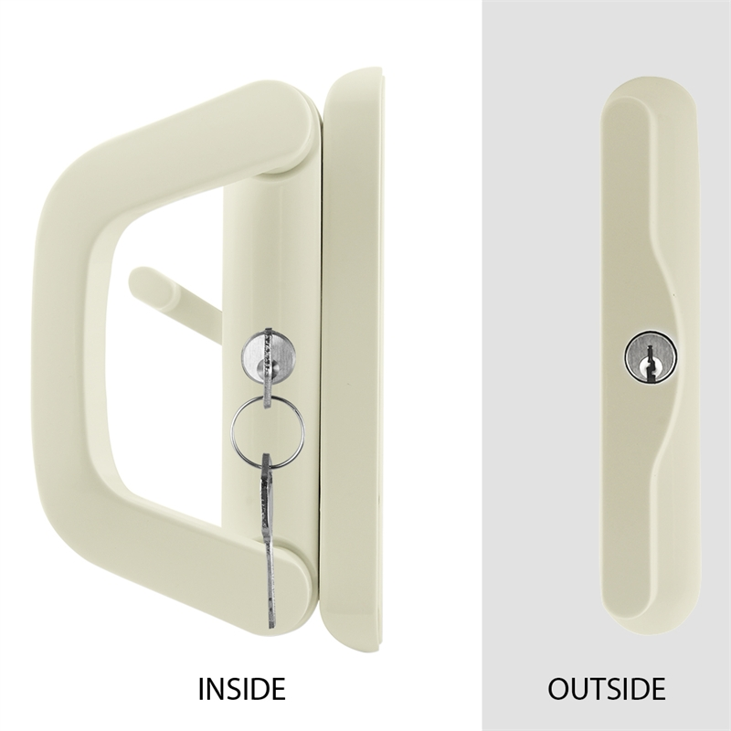 Primrose Double Cylinder Keyed Sliding Door Lock Bunnings Warehouse