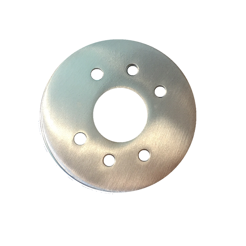 Delf Satin Chrome Round Adapter Plate Bunnings Warehouse