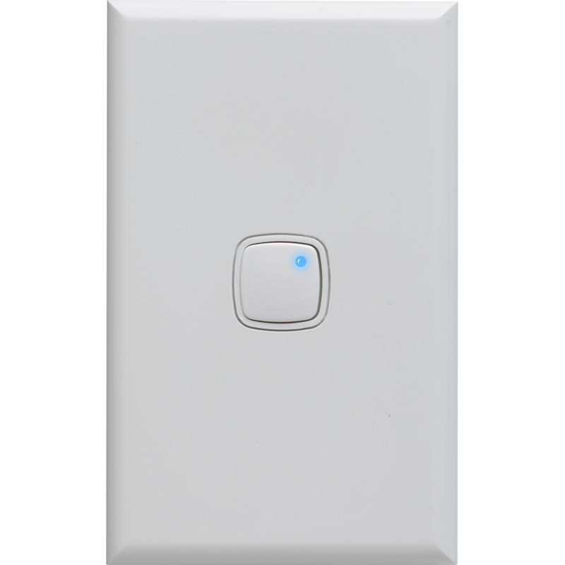 Hpm 450w White Push On Dimmer