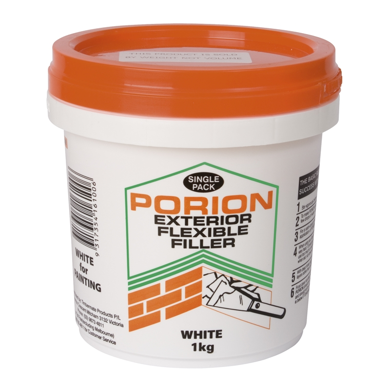 timbermate 1kg porion grey exterior flexible filler bunnings warehouse
