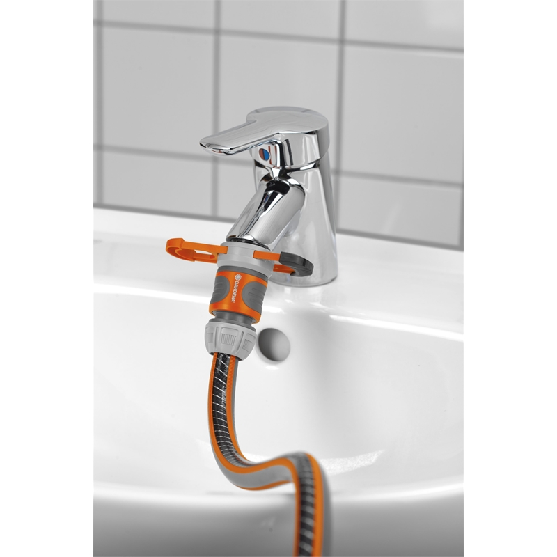GARDENA 13mm Tap Adaptor For Indoor Taps