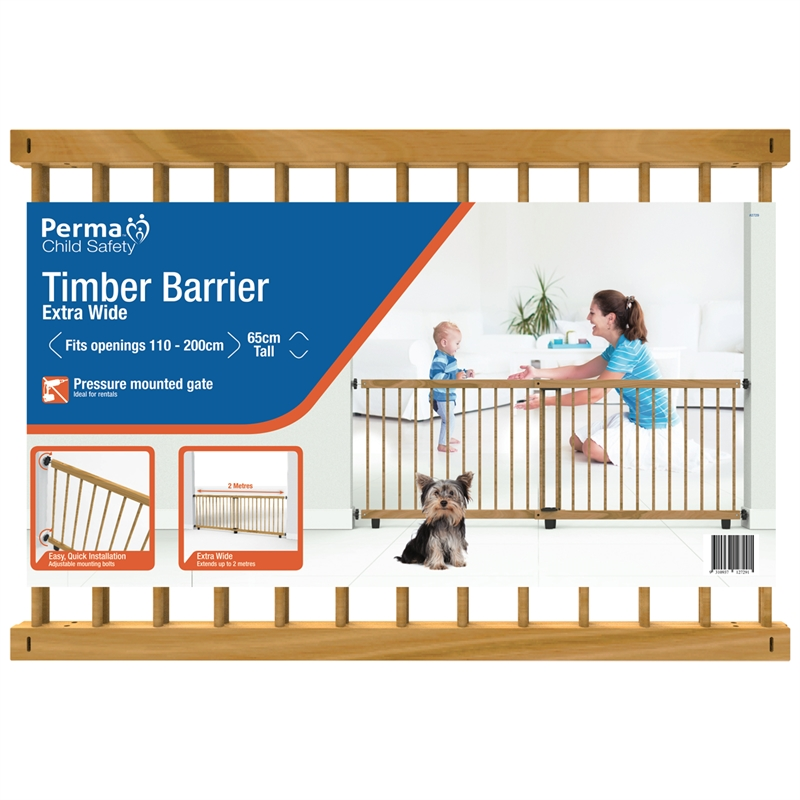 Perma Child Safety Timber Barrier Bunnings Warehouse