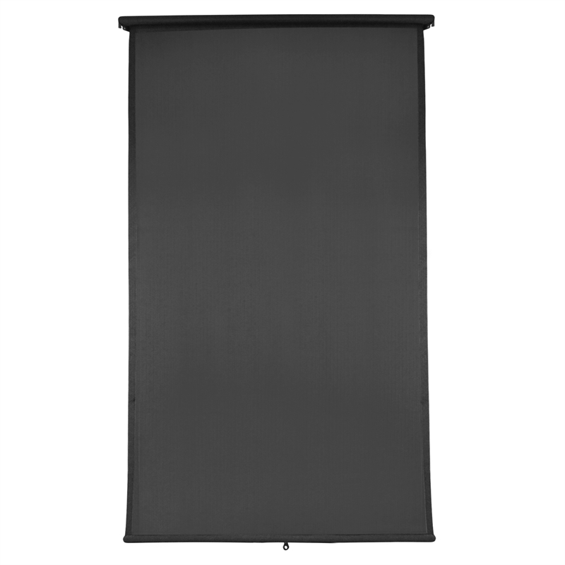 Windoware 2 4 X 1m Charcoal Retractable Blind