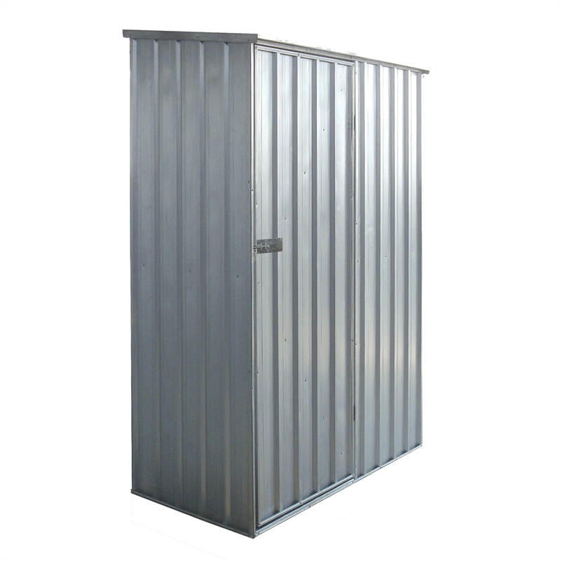 Pinnacle 1 5 X 0 8 2 0m Garden Shed Zinc