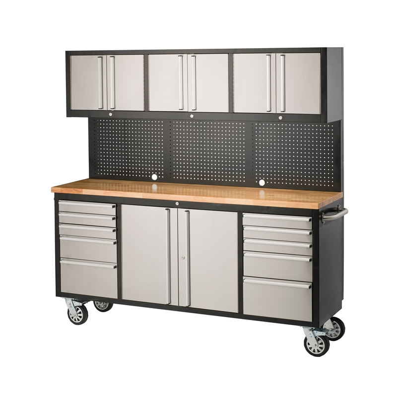 Sandleford 1835 X 523 X 1870mm Ultimate Workstation Trolley