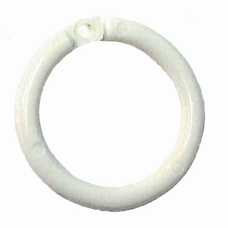 Smart Home Products 25mm White Curtain Rod Rings