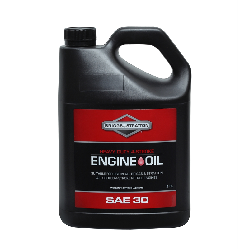how to put oil in briggs and stratton