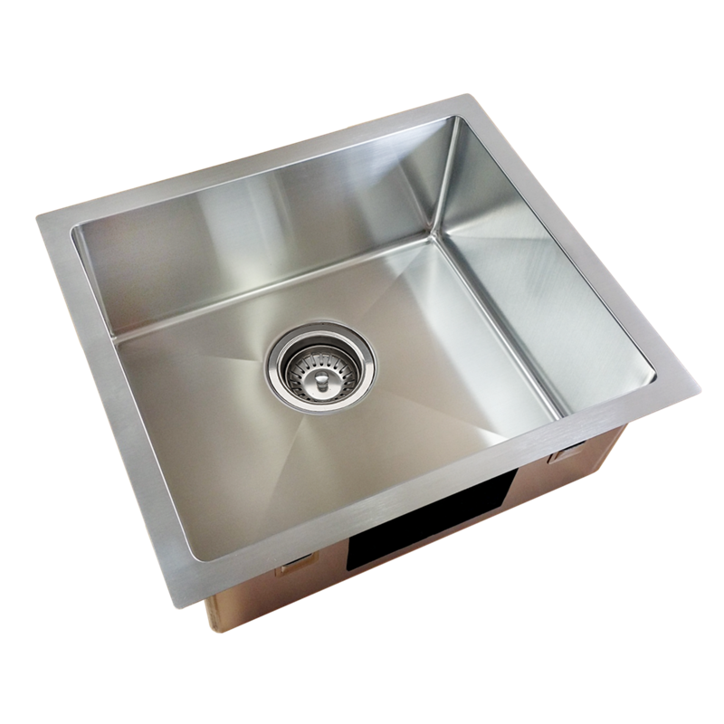 Single Tub Kitchen Sink Everhard squareline plus single bowl kitchen sink bunnings warehouse everhard squareline plus single bowl kitchen sink workwithnaturefo