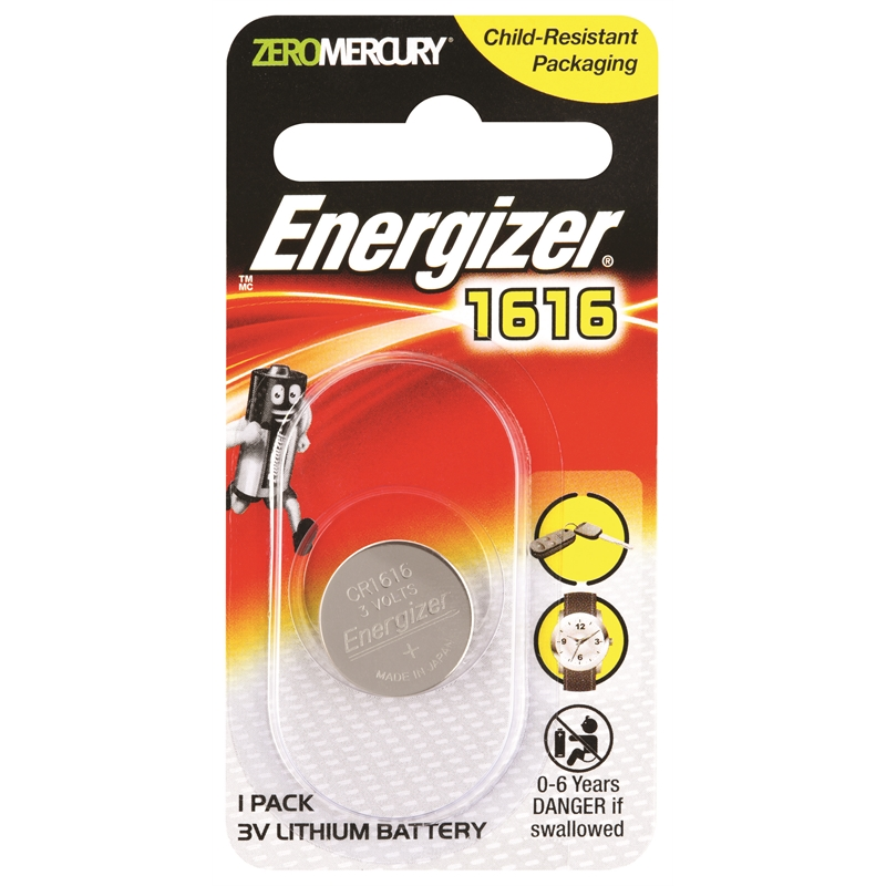 Energizer Cr1616 Lithium Battery Bunnings Warehouse