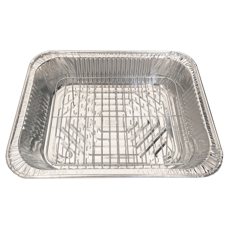 Foil and Grill Trays - 5 Pack