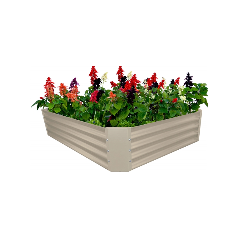 120 x 90 x 30cm merino raised garden bed - Garden Bed