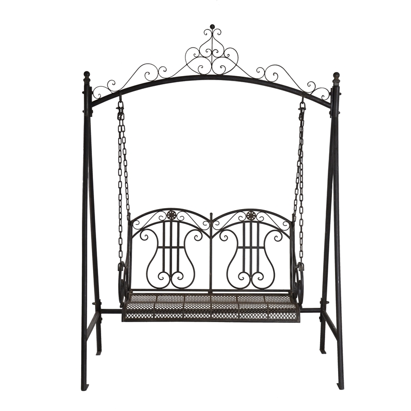 Marquee Rustic Iron 2 Seater Swing | Bunnings Warehouse