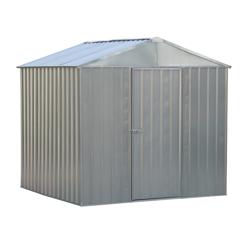 Qiq fix 2 3 x 2 3 x zinc garden shed i n 3312677 for Garden shed 4 x 3