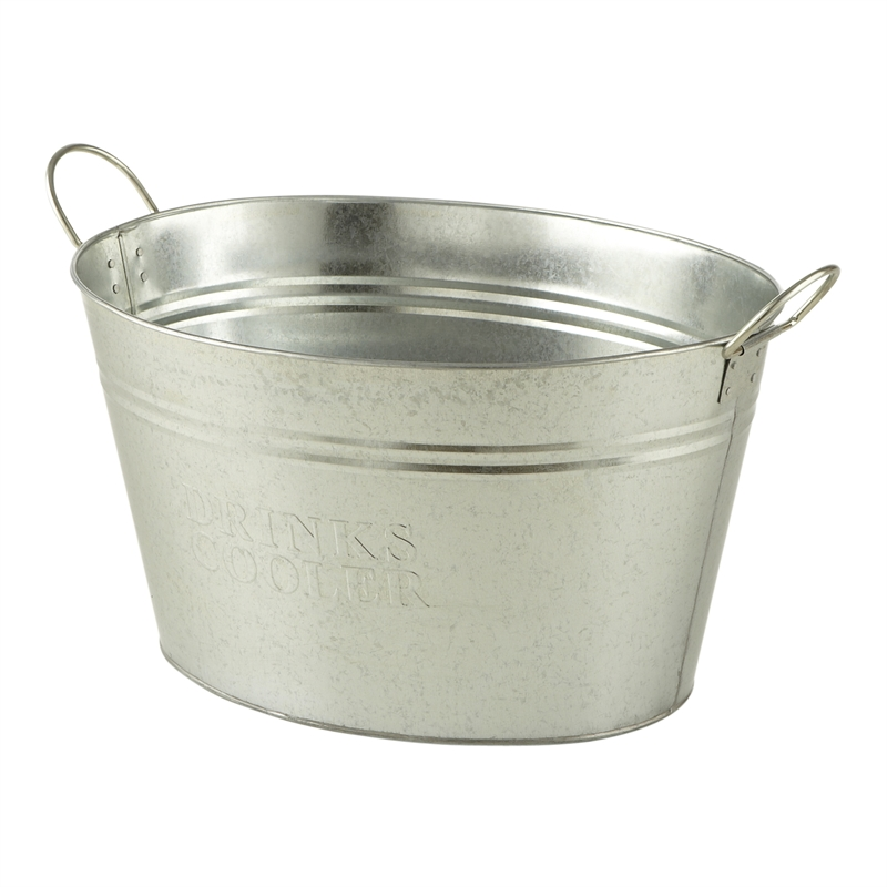 with tubs pattern tub interesting metal galvanized party for drinks beverage of design decor home unique