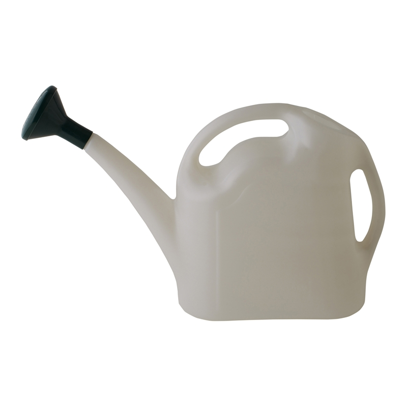 9l Watering Can White