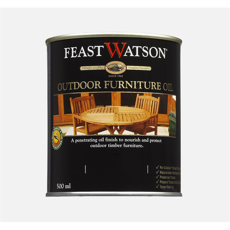 Feast Watson 500ml Clear Outdoor Furniture Oil Part 57