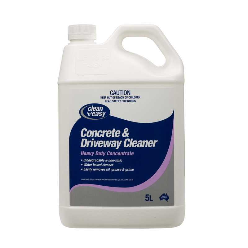Chemtech 5l concrete and driveway cleaner bunnings warehouse for Cement cleaning products