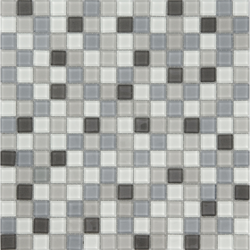 Cotto Tiles 19 X 19mm Black Gl Tile Mosaic Sheet Bunnings
