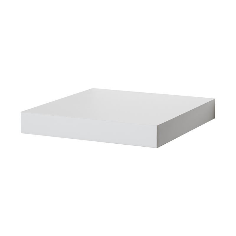 Flexi Storage 40 X 40 X 40mm White Matt Floating Shelf Bunnings Interesting White Square Floating Shelves