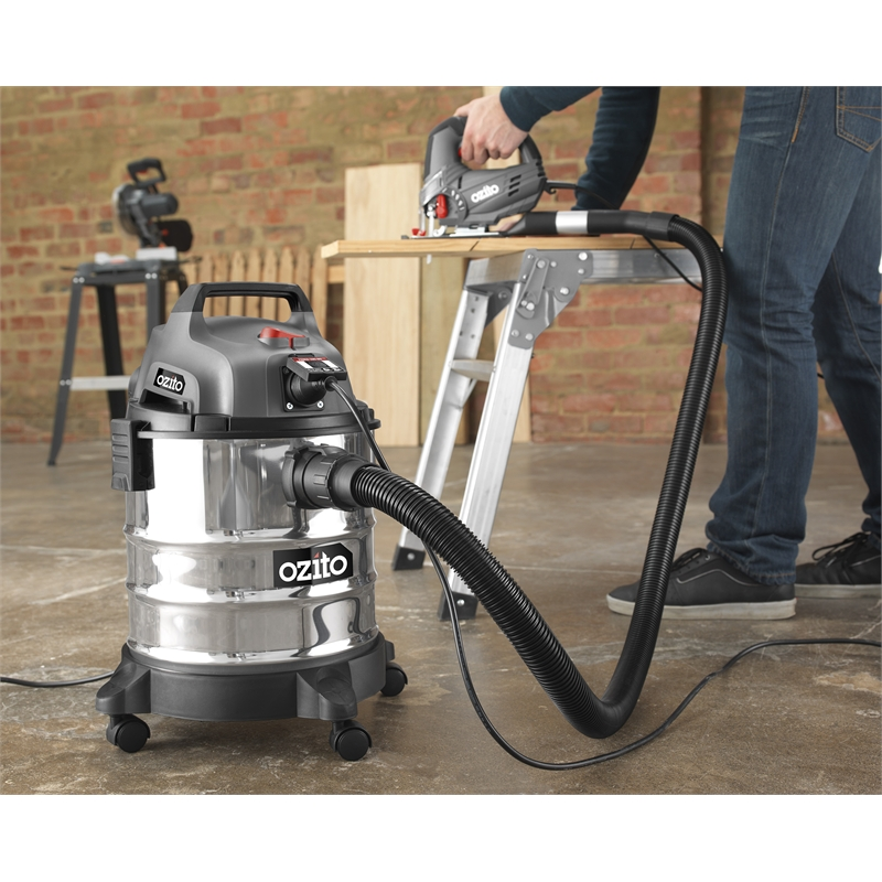 how to use ozito wet and dry vacuum