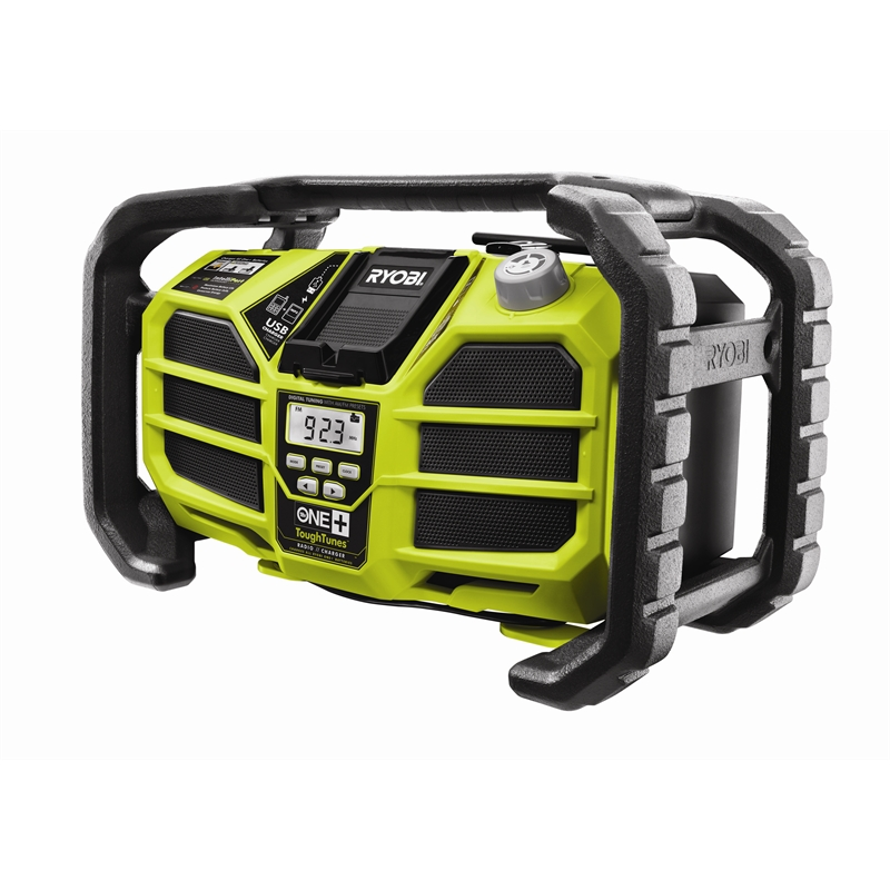 Ryobi One+ 18V Cordless AM / FM Radio And Charger