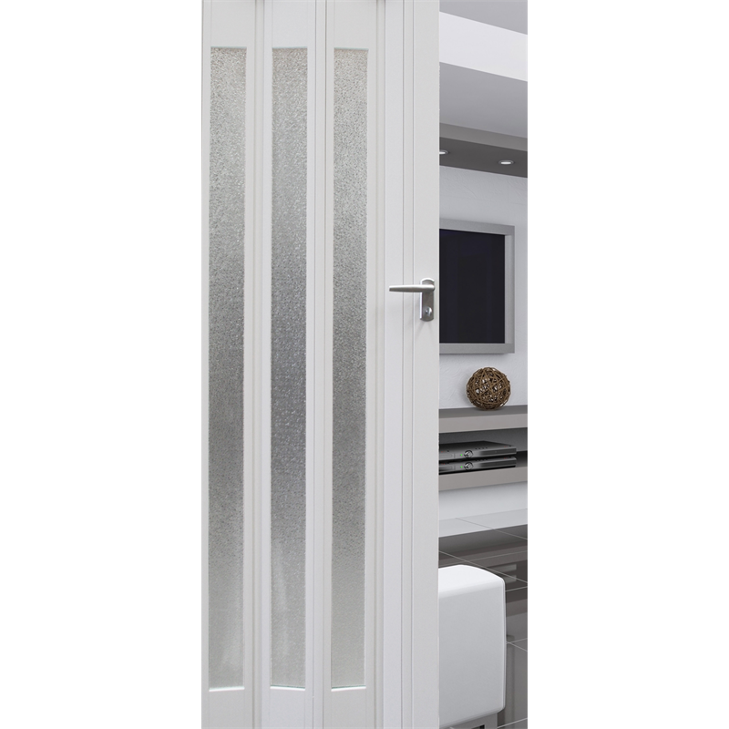 Pillar Products 85 X 203cm White Platinum PVC Concertina Door Part 50