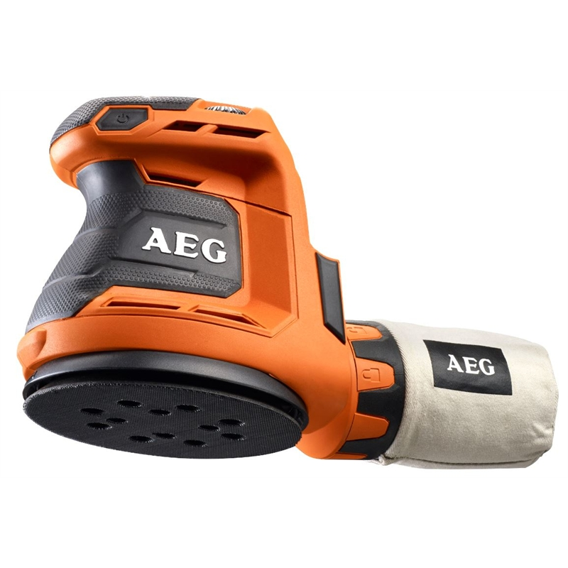 Aeg 18v 125mm Random Orbital Sander Skin Only Bunnings Warehouse