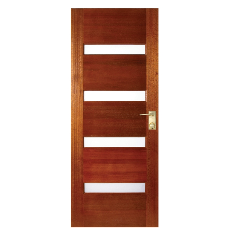 Hume Doors Timber 2040 X 820 X 40mm Savoy Entrance Door With