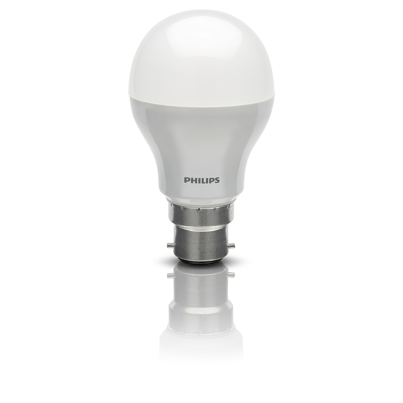 philips 5w bc warm white led globe. Black Bedroom Furniture Sets. Home Design Ideas