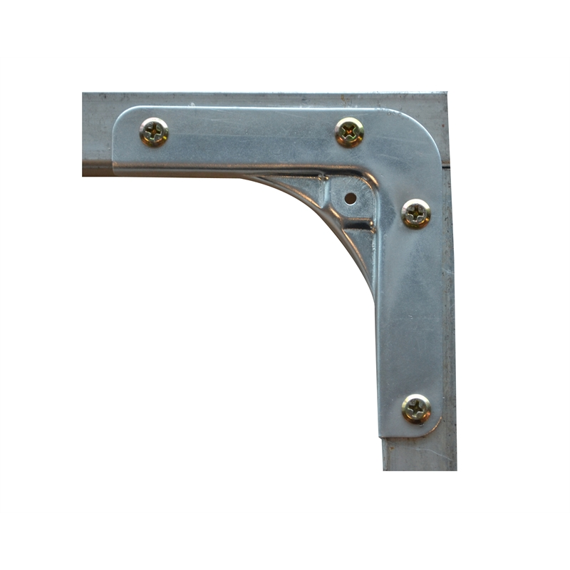 Corner Bracket Galvanised Rcr 102x102x21x1.5mm 16551