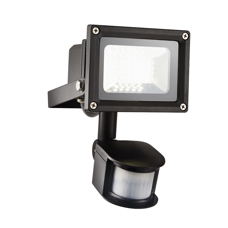 50w Led Flood Light Bunnings: HPM FORTA LED Floodlight With Sensor